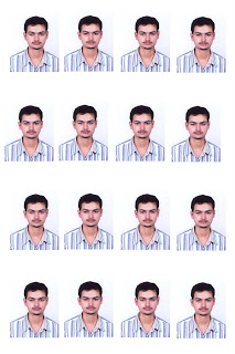How To Make Passport And Auto Size Picture From Large Image Nilambar Sharma