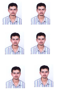 How to make passport and auto size picture from large image